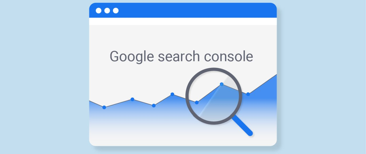 Google search console grafikon