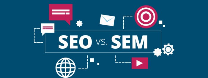 Keresőmarketing SEM vs SEO